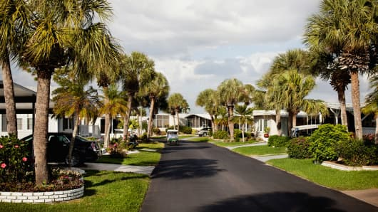 Retirement village in Florida.