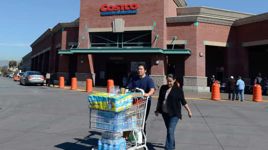 Costco consumer spending