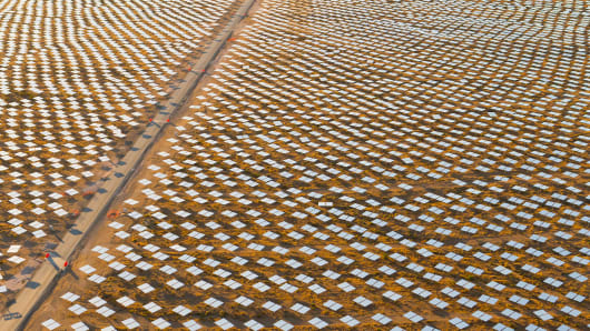 Ivanpah Solar Electric Generating System (ISEGS)