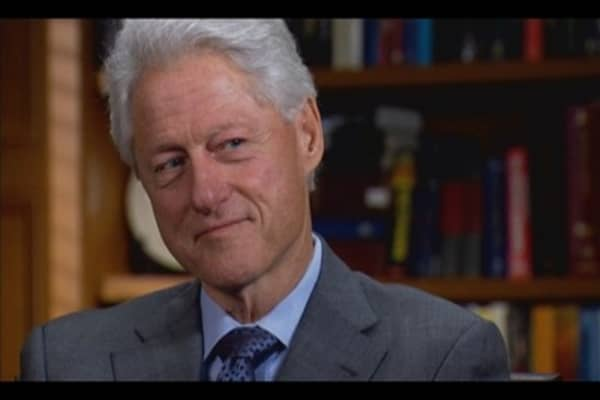 CNBC Meets: President Bill Clinton, Part One