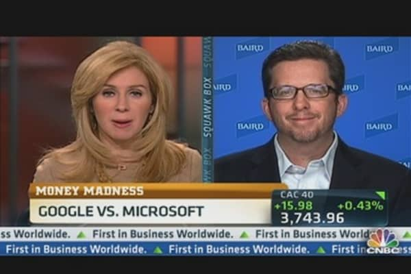 Money Madness: Google vs. Microsoft