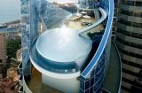 One of the designs for a penthouse at the Tour Odeon in Monaco.