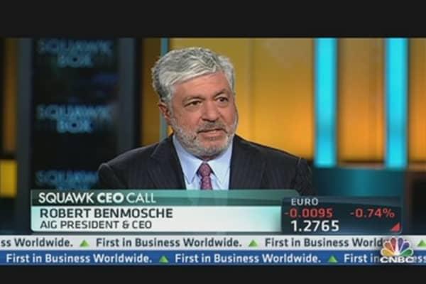 AIG's Benmosche: What We Want Regulators To Do