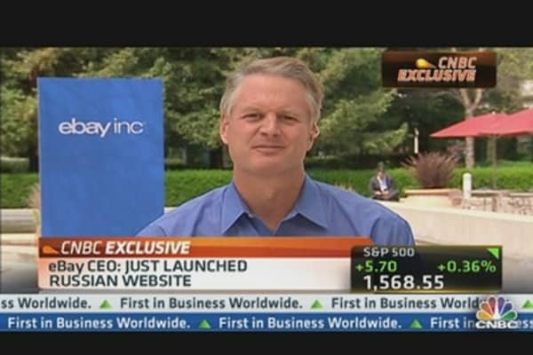 eBay CEO: Many Growth Opportunities In Emerging Markets