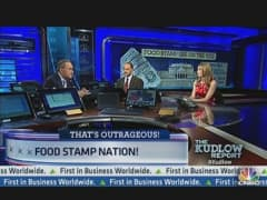 Food Stamp Usage Up