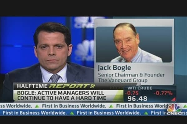 'We Need More Courage' in D.C.: Jack Bogle