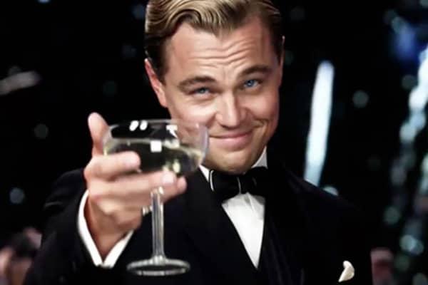 """Leonardo DiCaprio in """"The Great Gatsby."""""""