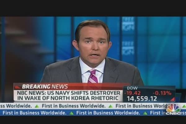 NBC News: US Navy Shifts Destroyer