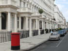 Luxury residential properties are seen on Eaton Place, Belgravia, in London, U.K.
