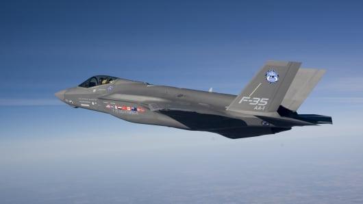 F35-A fighter jet