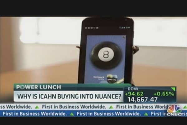 Why Is Icahn Buying Into Nuance?