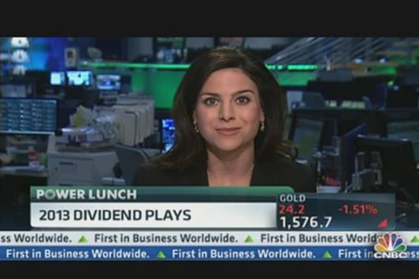 2013 Dividend Plays