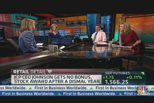JC Penney's Ron Johnson Gets Big Pay Cut