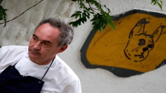 El Bulli chef Ferran Adria