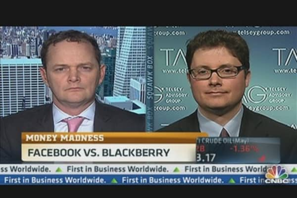 Money Madness: Facebook vs. BlackBerry