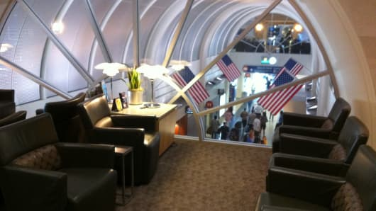 American Airlines Admirals Club at LAX