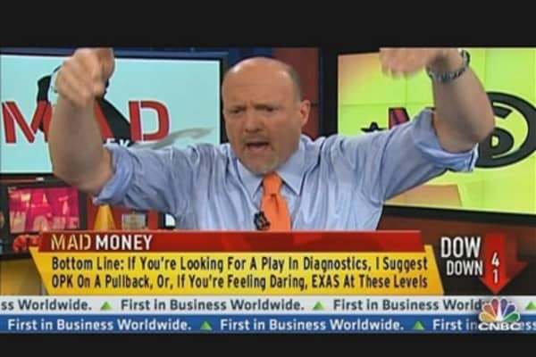 Cramer's Diagnosis on Two Pharma Plays