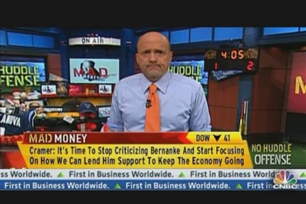 No Huddle Offense: Don't Blame Bernanke