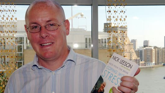 Nick Leeson, former Barings Trader