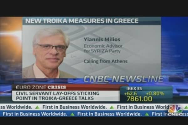 Troika Blackmailing Greece: Opposition Party