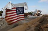 A New Jersey community after Hurricane Sandy.