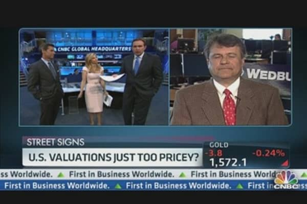 U.S. Valuations Too Pricey?