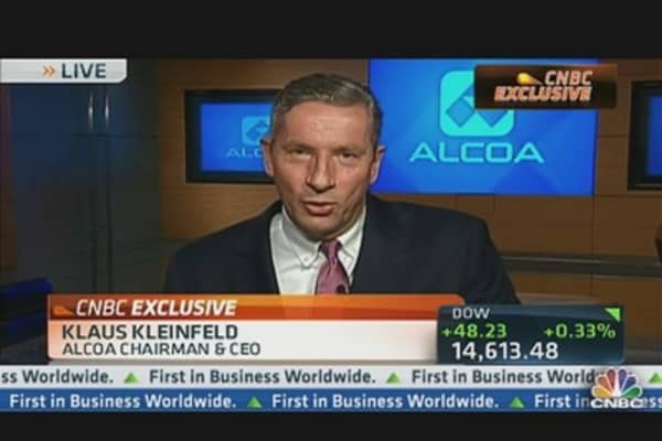 Alcoa CEO: Lessening Dependency on Metal Price Swings