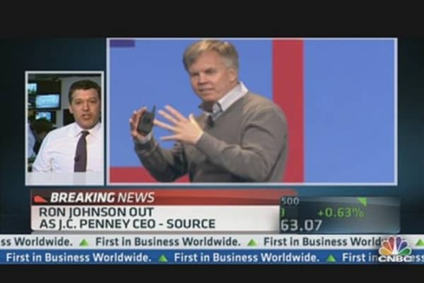 Ron Johnson Out As JC Penney CEO: Source