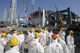 Fukushima Dai-Ichi nuclear power plant in Okuma, Fukushima Prefecture, Japan