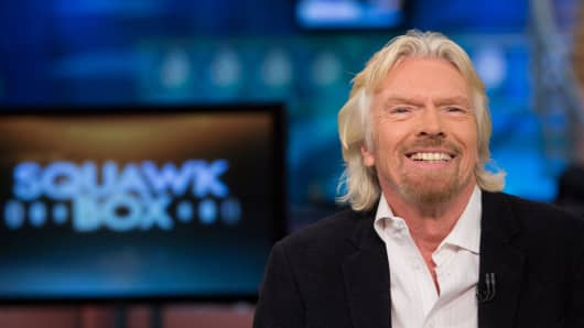 Sir Richard Branson, Virgin Group's founder and chairman