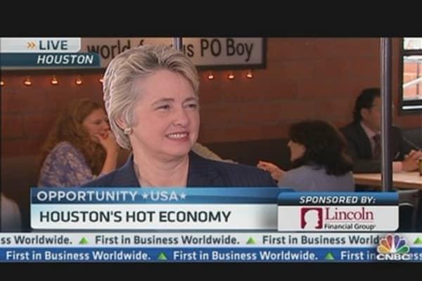 Houston Mayor: We Attract Best & Brightest
