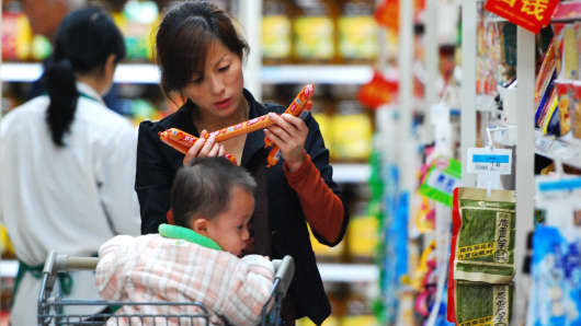China April producer prices rise 6.4 pct, consumer prices up 1.2 pct