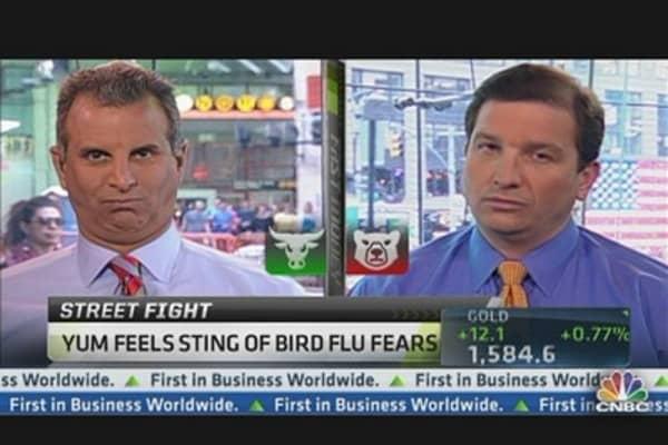 Yum Feels Sting of Bird Flu Fears