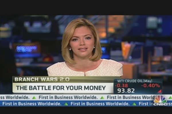 Branch Wars: Banks Battle For Your Money