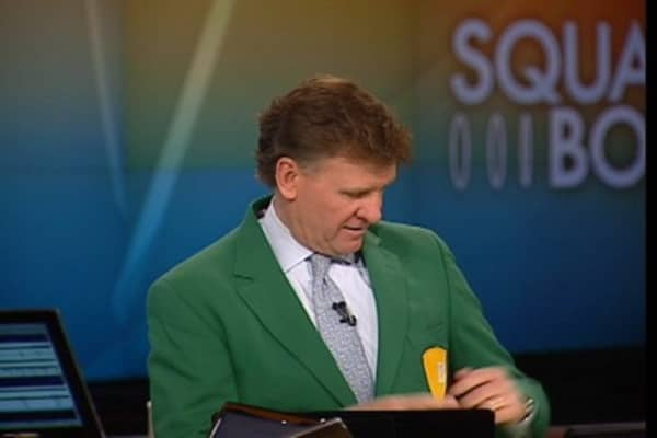 Joe Finally Gets His 'Green Jacket' (Kind Of)