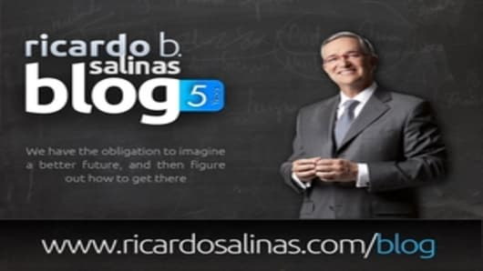 Ricardo Salinas' Blog 5th anniversary