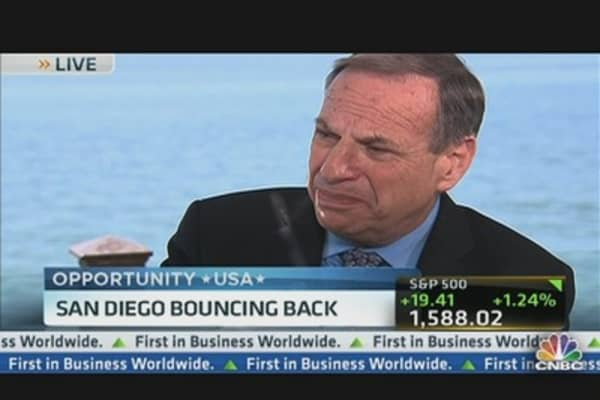 San Diego Mayor: We've Diversified