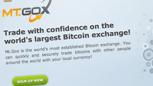 Mt. Gox Bitcoin exchange