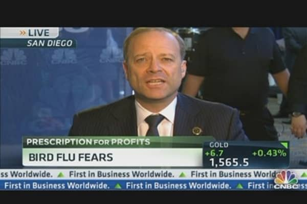 Sanofi CEO on Bird Flu Fears