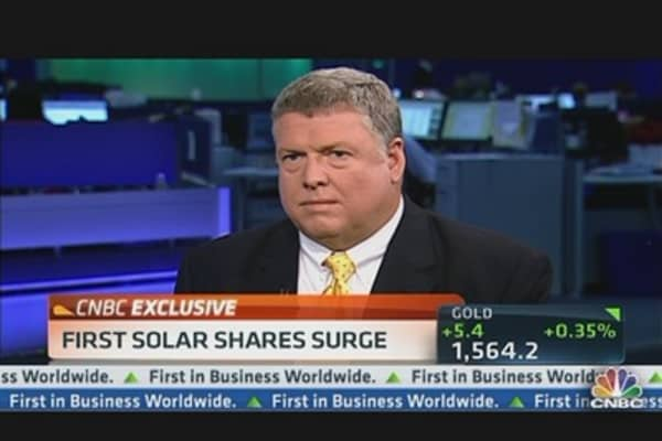 First Solar CEO: Understand Skepticism & Comfortable With Guidance