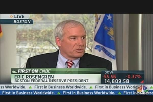 Rosengren's Economic Outlook