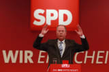 Peer Steinbrueck, chancellor candidate of the German Social Democrats (SPD)