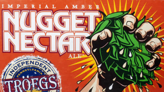 Troegs Brewery Nugget Nectar