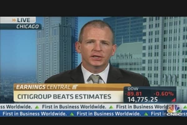 Citigroup Beats Estimates, Stock Trades Higher