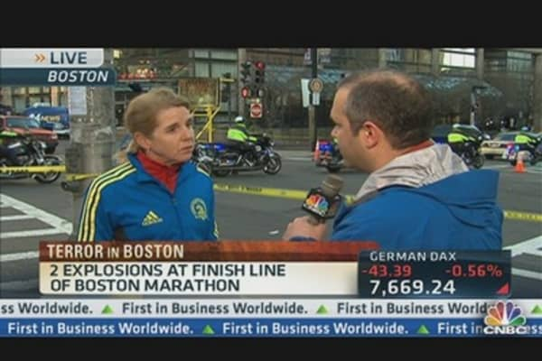 Boston on High Alert After Marathon Explosions