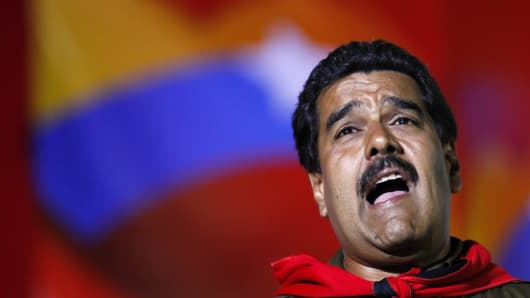 Venezuela's newly elected president, Nicolas Maduro.