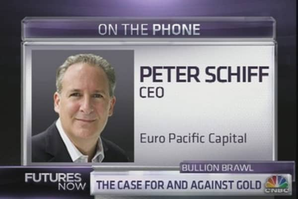 Peter Schiff, Doug Kass Clash on Gold