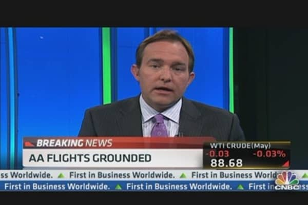 American Airlines Flights Grounded