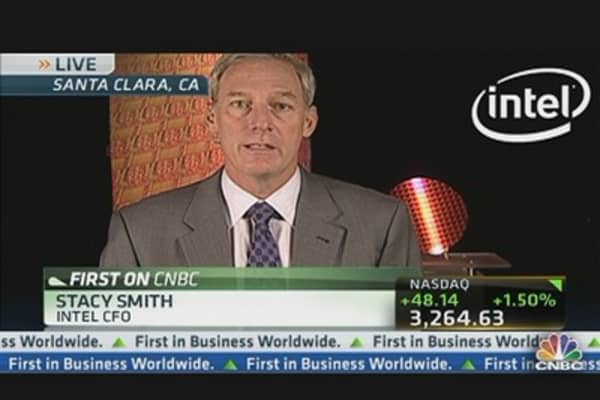 Intel CFO on Q1 Earnings & Year Ahead