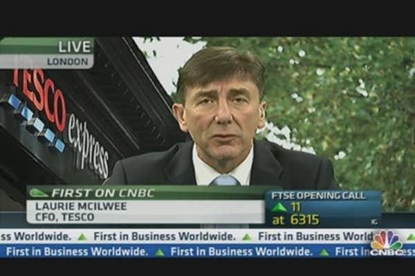 Tesco CFO on Quitting the US Market